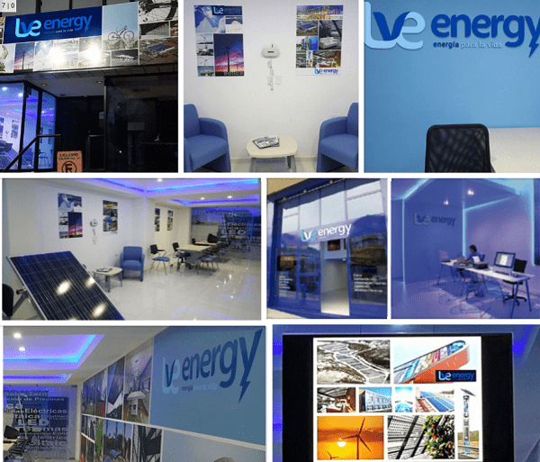 Lve energy collage